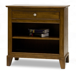 Fifth Avenue bedside chest, solid eastern maple made in BC