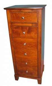 Fifth Avenue Lingerie Chest, solid eastern maple made in BC