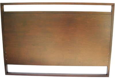 Tangent Solid wood bed/ headboard, built to order