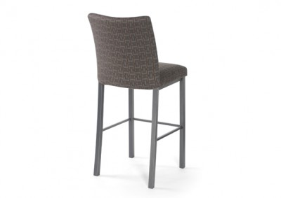 Biscaro Stool- Canadian made, welded steel frame