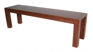 Solid wood bench, custom sizes available
