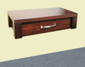 Boxwood Floating Nightstand - built to order