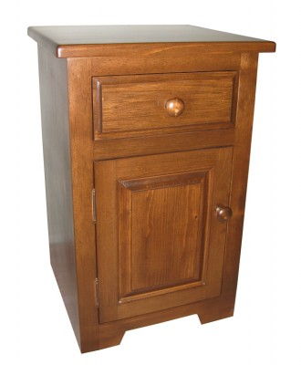 Cypress Nightstand - solid wood, locally made, built to order