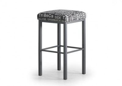 Day Bar stool - Canadian made, welded steel frame