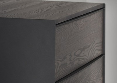 Roots Chest- solid oak & welded steel, made in Canada