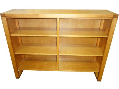 Tangent solid wood low bookcase - Vancouver and Coquitlam