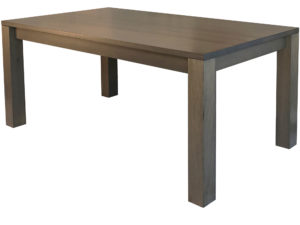 Boxwood Dining table - custom, solid wood, locally built furniture