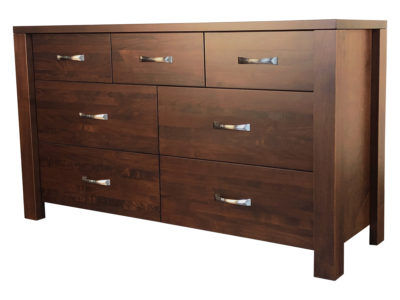 Boxwood 7 Drawer Dresser - solid wood, locally built, custom in-house design
