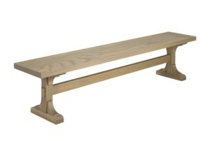 Castleton Bench - Solid wood, Canadian built, custom built furniture,