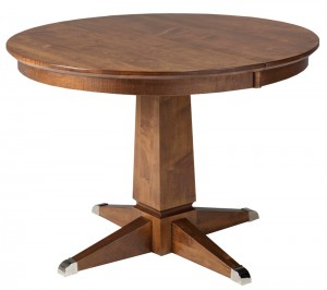 Danish table - solid wood, Canadian made, custom furniture