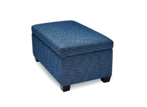 Hyde ottoman by Stylus - solid wood frame, fully upholstered, locally built to order furniture, Canadian made