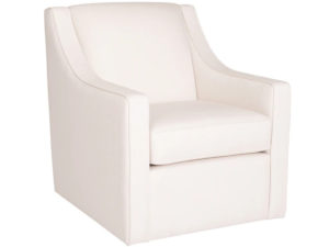 Jenna armchair by Van gogh - solid wood frame, fully upholstered, locally built, made to order furniture, Canadian made