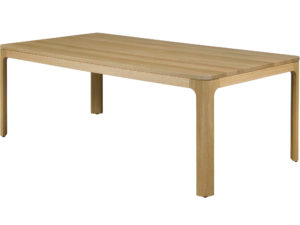 Naasko table - solid wood, built to order, Canadian made