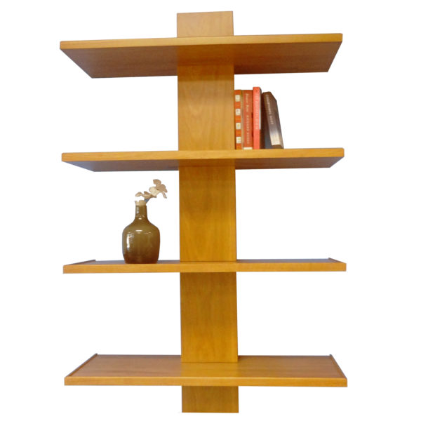 Blackcomb floating shelf - solid wood locally built, custom in-house design Canadian made