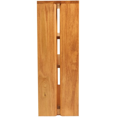 Short Queue Bookcase - solid poplar wood