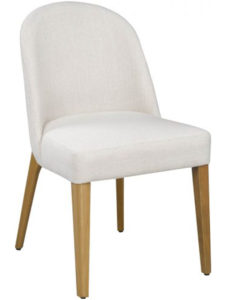 Svene Chair - solid wood, Canadian made, fully upholstered custom built furniture