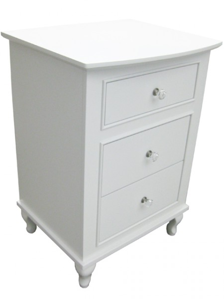 Custom Fifth Avenue nightstand -solid wood, custom built to order furniture, locally built, Canadian made,