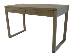 Tangent Writing desk - solid wood, locally built, made to order.