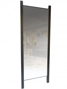 Tangent Floor Mirror - Made to order, solid wood, locally built
