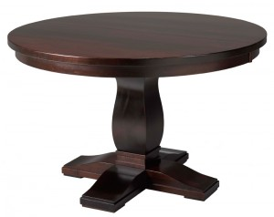 Valencia Table - solid wood, Canadian built , custom furniture
