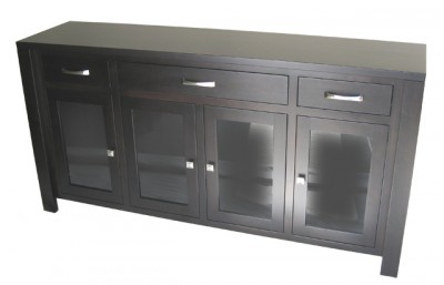 Custom solid wood server , locally built, Canadian made, custom in-house design