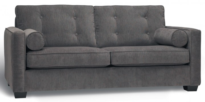 Haro tufted Sofa by Stylus, also condo size sofa, loveseat, armchair, ottoman & sectional - built to order