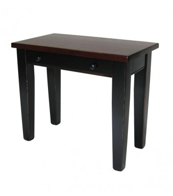 Pine Writing Desk -- custom solid wood, locally made, built to order