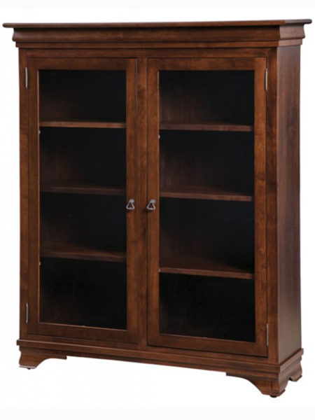 Morgan Bookcase with glass doors