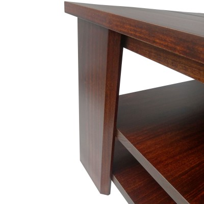 Queue too square coffee table - solid wood, made in BC