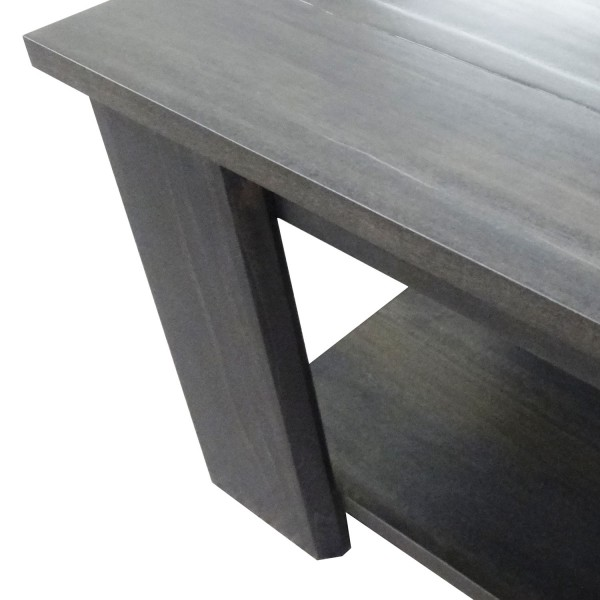 Queue too long Coffee Table - solid wood, locally built custom made to order furniture, in-house design, Canadian made