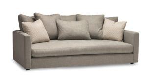 Ellyn Sofa by Stylus - solid wood frame, fully upholstered, locally built, made to order furniture, Canadian made