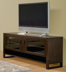 Tangent entertainment unit - solid wood furniture custom built to order locally built, Canadian made